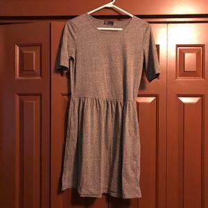 Grey gap dress with pockets